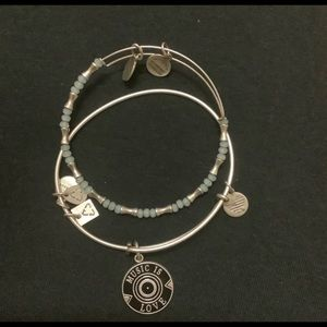 Set of bangles from Alex and ani